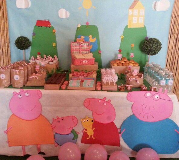Decoracion Cumplea?os Peppa Pig ~ cumplea?os Pepa pig III Decor, Ideas Birthday, Cumplea?os Pepa Pig