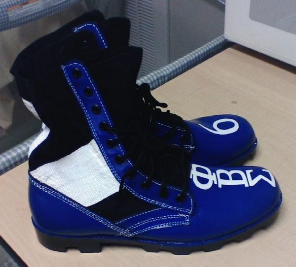 Phi Beta Sigma Boots  <3