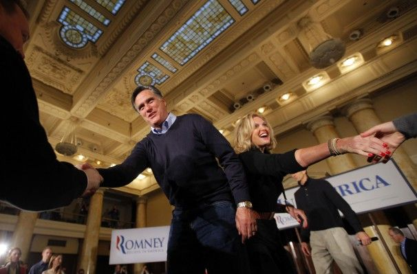 Mitt Romney's Sons and Wife | jan 3 2012 candidate mitt romney and his wife ann