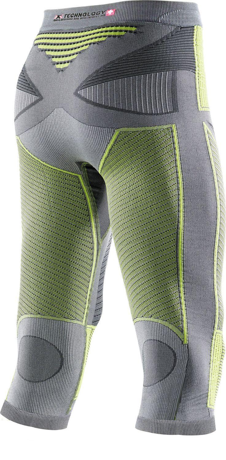 Radiactor Evo Corsair Men Iron/Yellow X-Bionic : Bas de Sous Vêtements Techniques : Snowleader