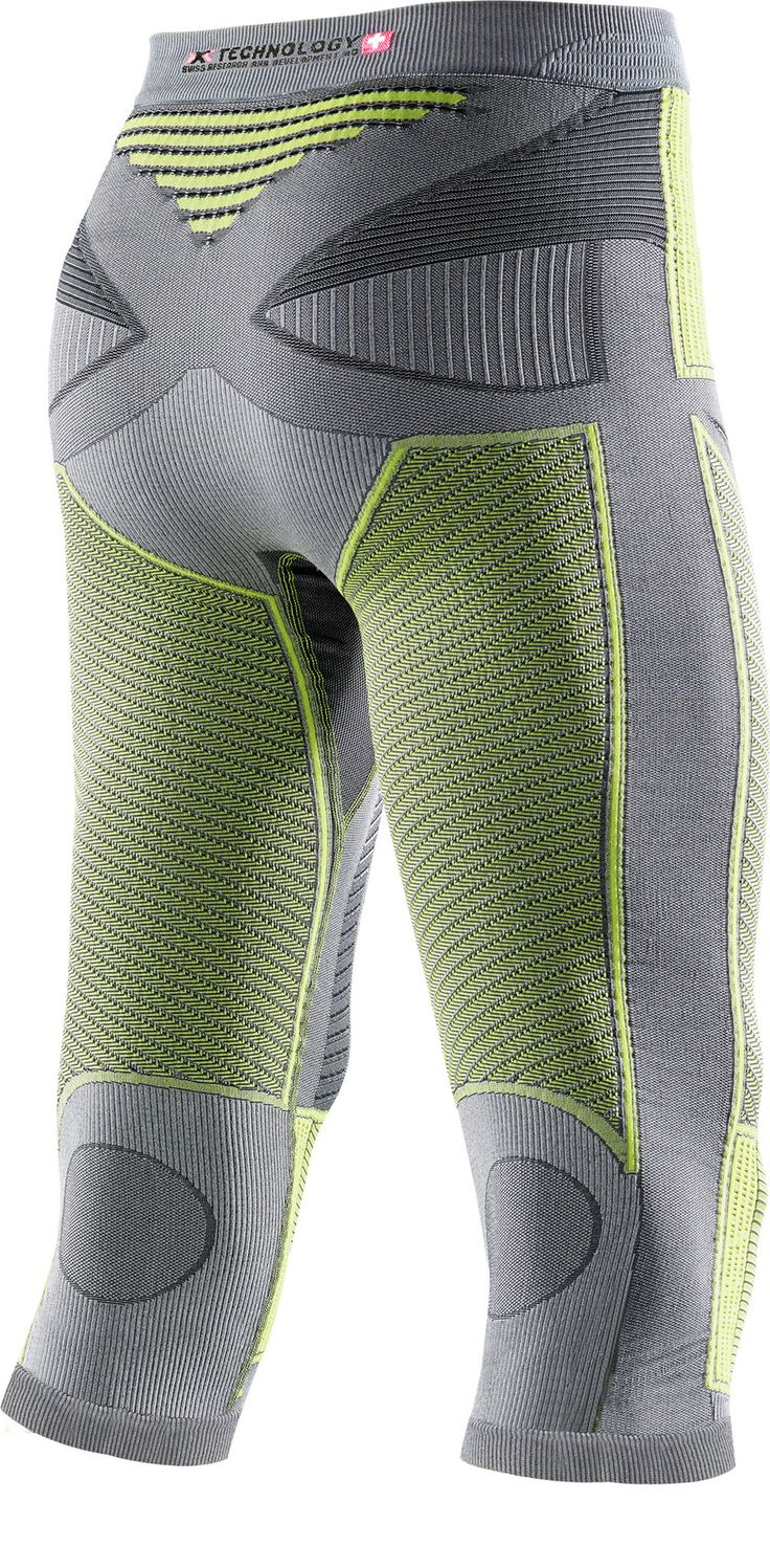 Radiactor Evo Corsair Men Iron/Yellow X-Bionic : Bas de Sous Vêtements Techniques : Snowleader