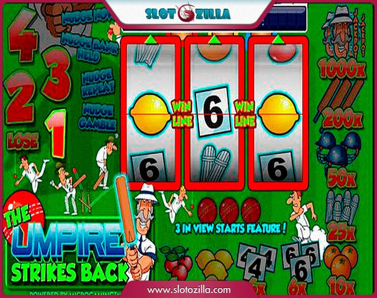 The Umpire Strikes Back free #slot_machine #game presented by www.Slotozilla.com - World's biggest source of #free_slots where you can play slots for fun, free of charge, instantly online (no download or registration required) . So, spin some reels at Slotozilla! The Umpire Strikes Back slots direct link: http://www.slotozilla.com/free-slots/umpire-strikes