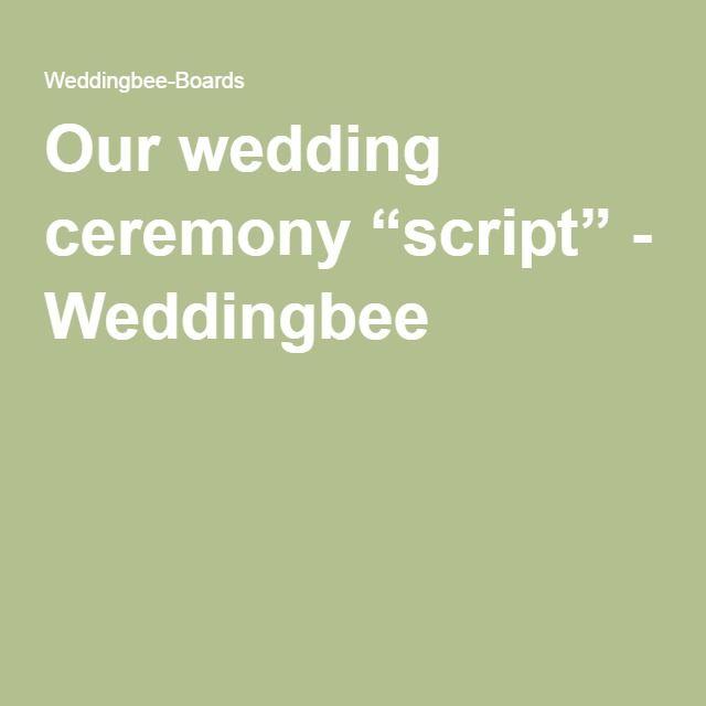 Wedding Officiant Speech Ideas: 25+ Cute Wedding Ceremony Script Ideas On Pinterest