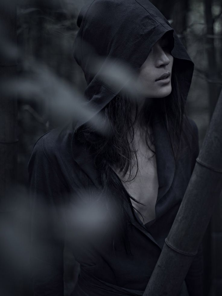 She never trusted others, she kept her dark hood up, concealing her face, but when people truly looked at her, they were entranced and it scared her.