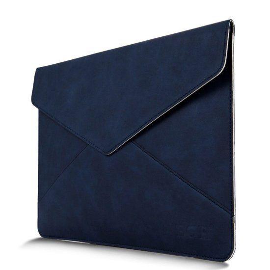 Envelop Style lederen etui voor Macbook Air 13.3 | Donkerblauw