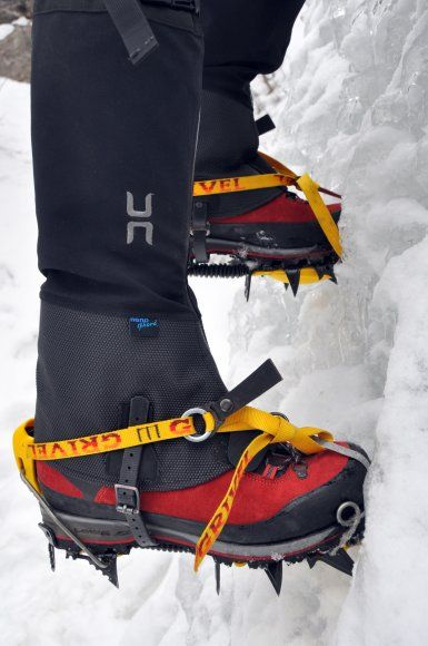 Super Armadillo Nano? Yes, these gaiters are as bada$$ as they sound!! Review from www.upadowna.com
