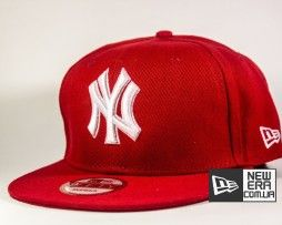 New York Yankees New Era 9fifty бейсболка красная купить