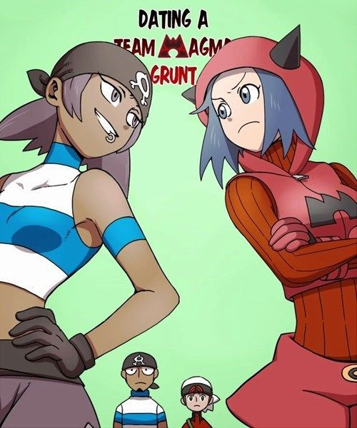 pokemon dating a team magma grunt manga Pokemon - dating a team magma grunt (doujinshi) manga ,n/a.