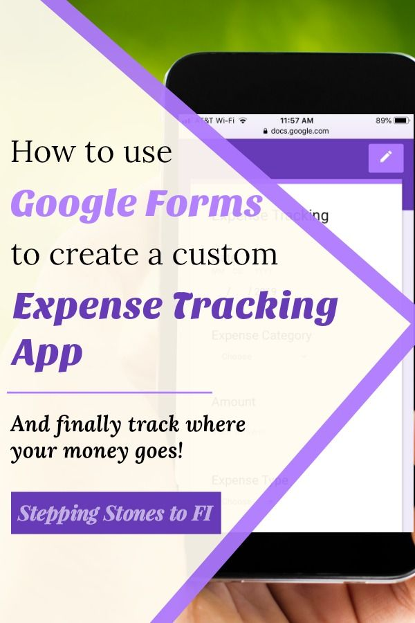 Finally Keep Track Of Your Spending With The Easiest Expense Tracking App Possible Learn How To Use Google Forms Single Mom Finances Personal Budget Budgeting