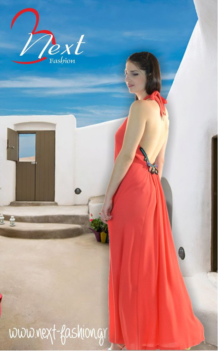 <3 Φόρεμα Μάξι με Ανοιχτή Πλάτη και Κέντημα με Χάντρες!! <3  Βρείτε το ΕΔΩ: http://next-fashion.gr/-foremata-/479--forema-bsb-maxi-anixti-plati-kentima-xantres-.html