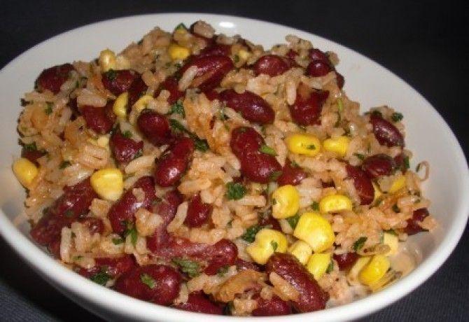 Babos rizs paradicsomlével recept képpel. Hozzávalók és az elkészítés részletes leírása. A babos rizs paradicsomlével elkészítési ideje: 35 perc