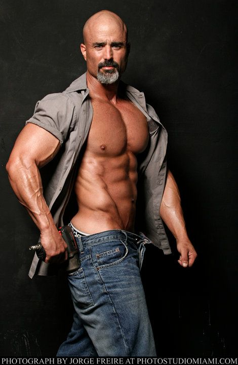 17 best images about real man on pinterest sexy silver for Sergio vega