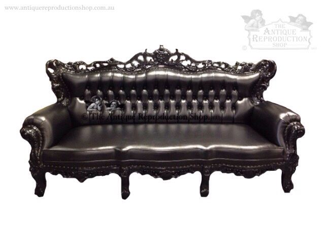 Heavy Victorian Gothic Inspired Or Modern Bold And Used As A Feature Among  Modern Decor. Exquisite Piece Hand Carved From Solid Mahogany Finished In  ...