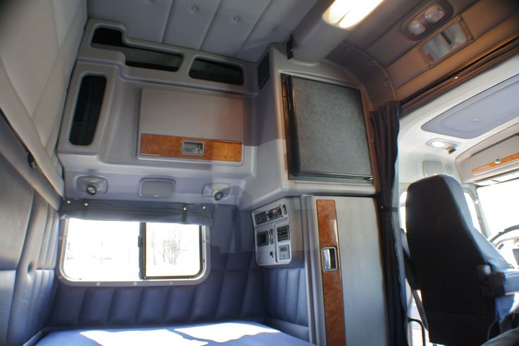 My new ride/home? Ya just never know volvo semi truck sleeper 60 inch interior - Google Search ...