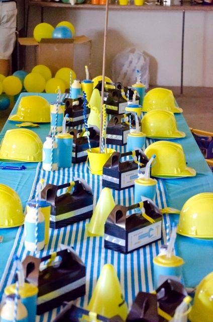 tool theme Birthday Party Ideas | Photo 1 of 43 | Catch My Party