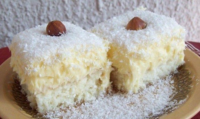 Vynikající Rafaello řezy. Pokud máte rádi kokos, určitě si pochutnáte. Mňamka!