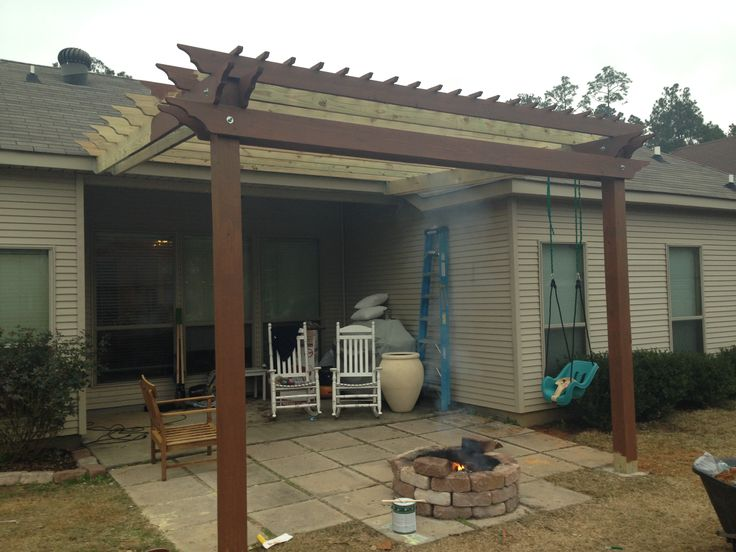 Pergola Attached To Fascia Google Search Delgado