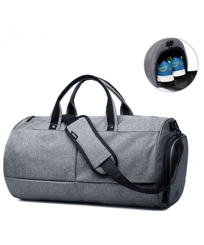 Duffel Bag For Men Gym With Shoe Compartment Travel Sports Grey Cc1832x0d7l Bags Handbags Gifts Style Duffle