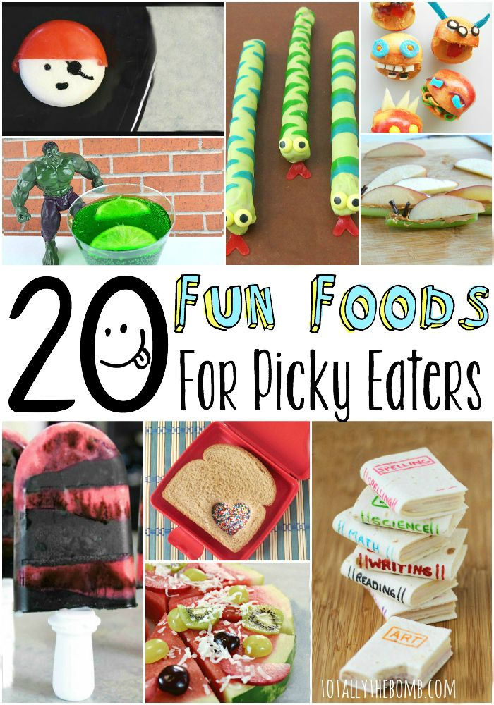 20 Fun Foods for Picky Eaters