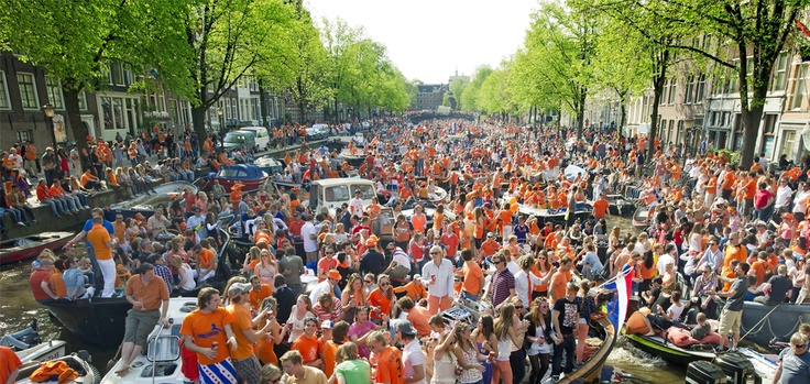 Queensday (from now on Kingsday) Amsterdam