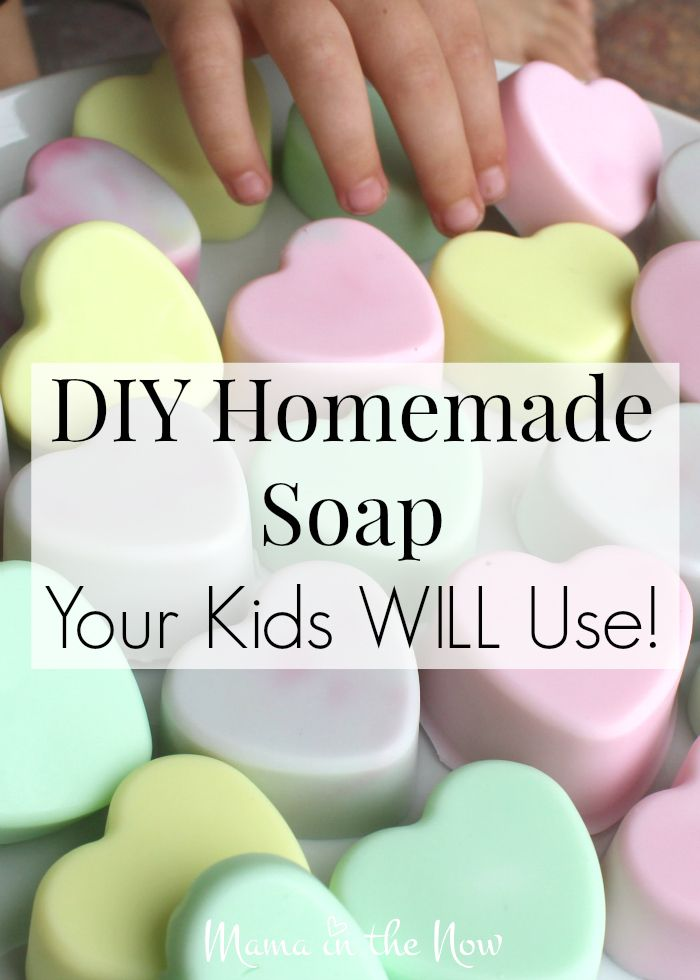 DIY Craft: DIY Homemade soap your kids WILL use! This adorable craft is fun to make with the kids and it helps them enjoy hand washing!