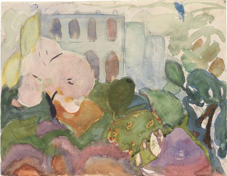 'Garden Motif', 1914 - Siri Derkert