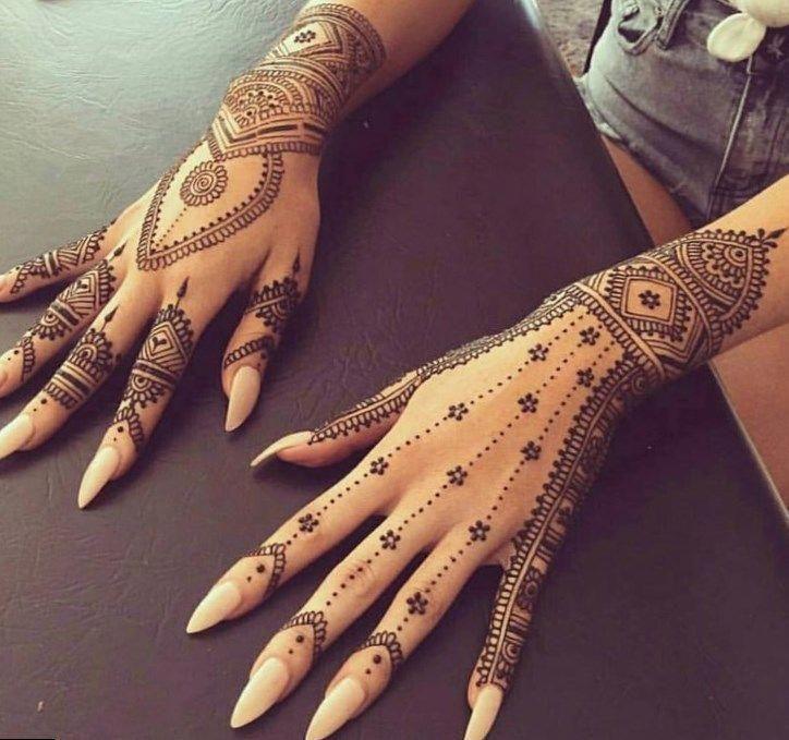 #hennatattoo #tattoo nom tatouage maori, idées de tatouage de chat mignon, tatouages de fille sur …   – Henna