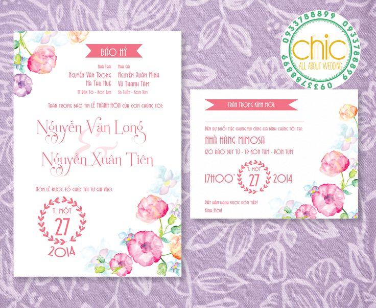 wedding invitation design by me