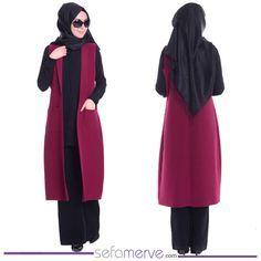 Sefamerve En Yeni Yelek Modelleri, Kargo BEDAVA Fırsatıyla! #sefamerve #tesetturgiyim #tesettur #hijab #tesettür