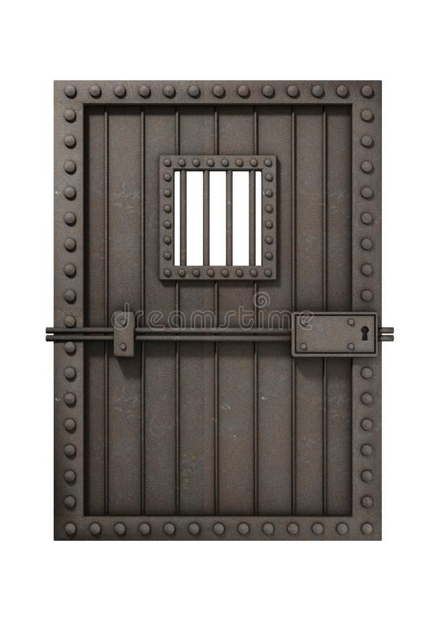 Jail Door Illustration Of An Iron Door In A Jail Cell Isolated On White Backgr Affiliate Illustration Iron Jai Iron Door Design Jail Bars Iron Doors