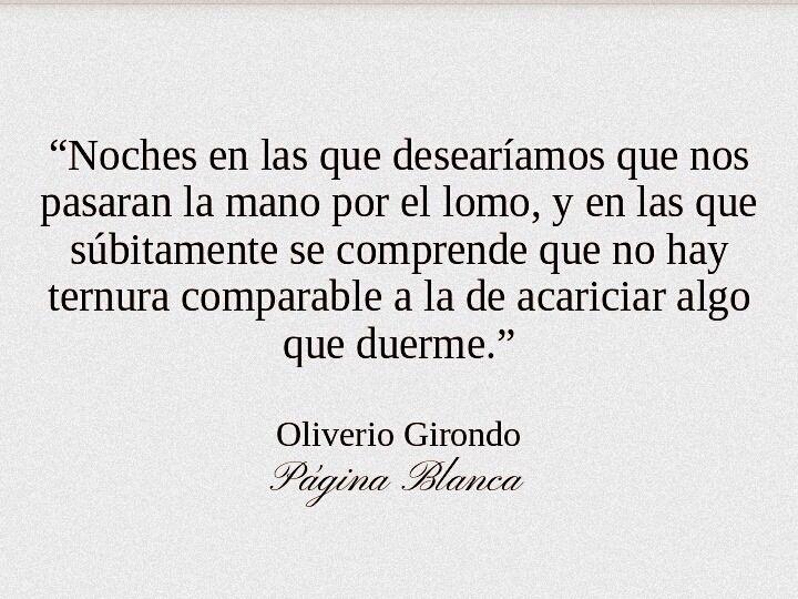 Oliverio Girondo.