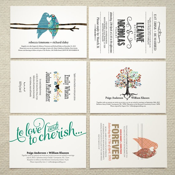 SALE Wedding Invitations  DIY Printable PDF by AmyAdamsPrintables, $25.00