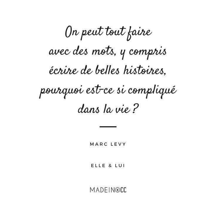 Elle & Lui, Marc Lévy - Citations - Livres - Lecture