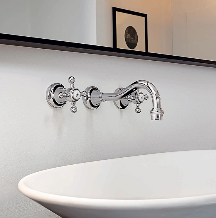 Zucchetti Agorà basin  wall mounted tap