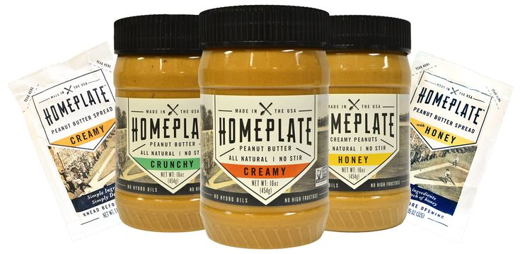 Homeplate peanut butter honey flavored creamy all natural