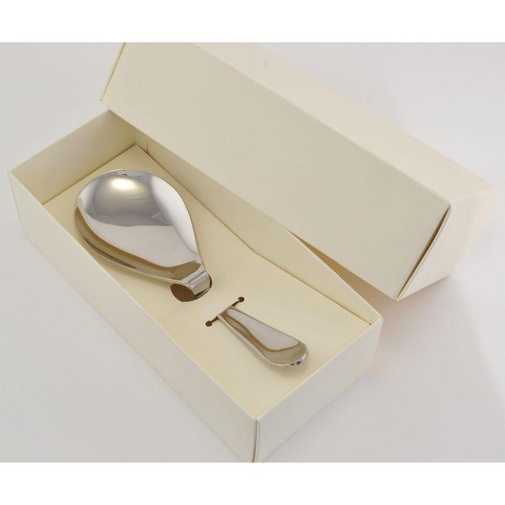 Cucchiaione da risotto MAGIC In Acciaio 18/10 182 mm in Confezione Bomboniera | Eme Posaterie | Stilcasa.Net: bomboniere