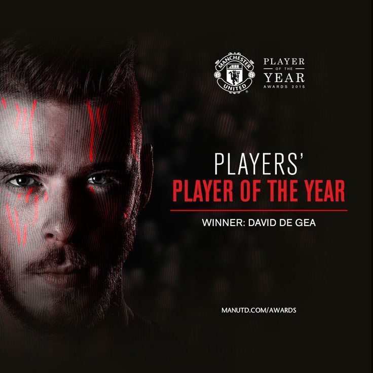 As chosen by his team-mates, David De Gea is the #mufc Players' Player of the Year! #mufcpoty 19.5.2015