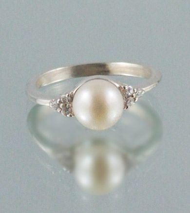 real pearl ringcubic zirconia engagement ringsjune birthstone ringcheap wedding ringseternity ringlove ringfashion ringsopen ring - Cubic Zirconia Wedding Rings That Look Real