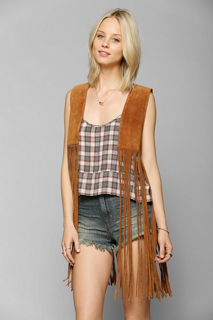 Staring At Stars Suede Fringe Vest #urbanoutfittersUrban Outfitters, Fringes Vest, Festivals Style, Summer Wear, Urbanoutfitters Com, Su Fringes, Stars Suede, Suede Fringes, Awesome Stuff