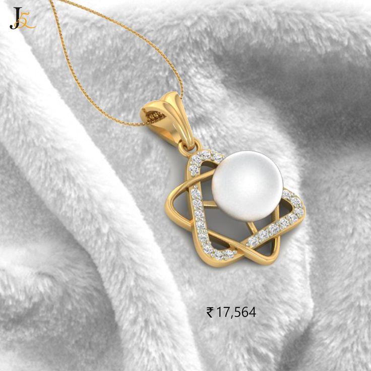 Bold & Classic #DiamondJewellery @Jewels5  - https://jewels5.com/Collections/pearl-jewellery