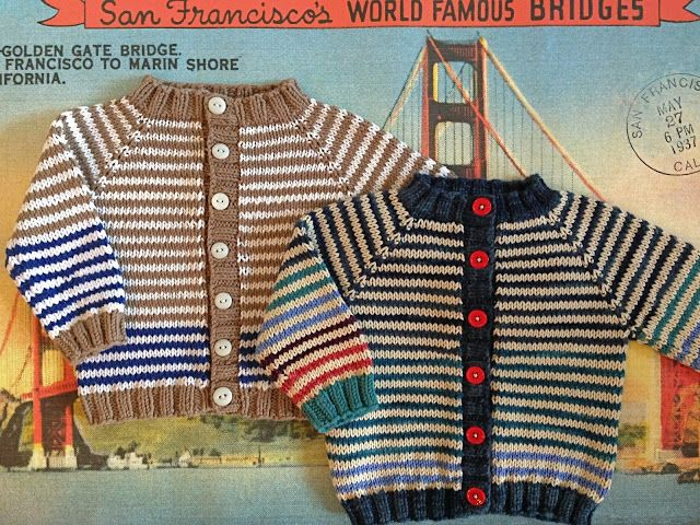 Knitionary: totally free/totally adorable baby cardigan