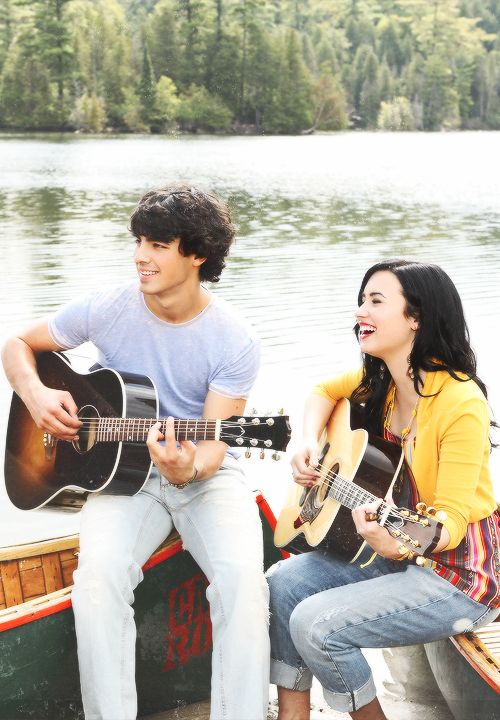 Shane Gray & Mitchie Torres (Joe Jonas and Demi Lovato) (on screen lovers) {Camp Rock Movie Series}