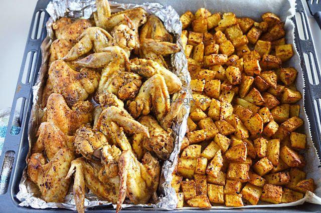 Πικάντικες Φτερούγες Κοτόπουλου