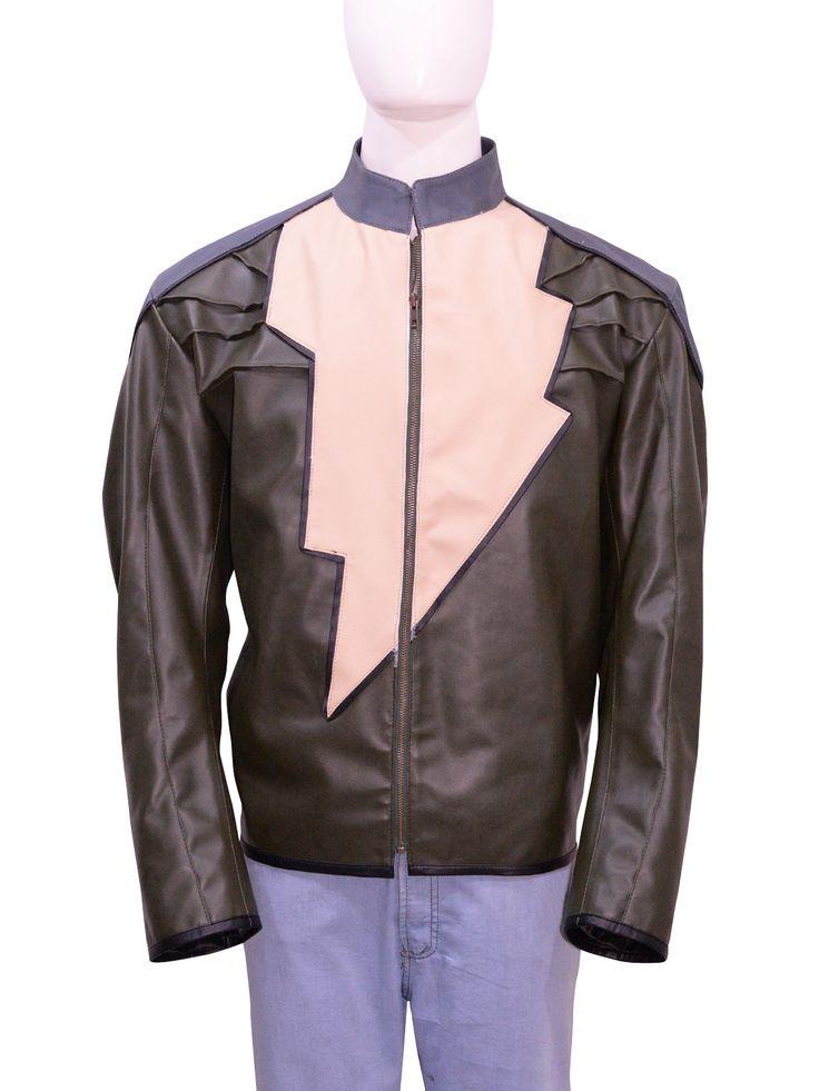 Black Adam Injustice Leather Jacket
