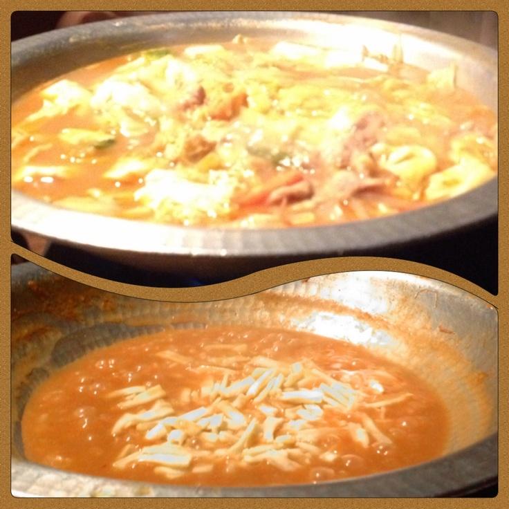 【43】「カレー鍋」に「チーズたっぷりリゾット」で決まり!。      暖まる「カレー鍋」!。締めは「チーズたっぷりリゾット」で決まり!。  [じどりーにょ:池袋]      http://rooType.com