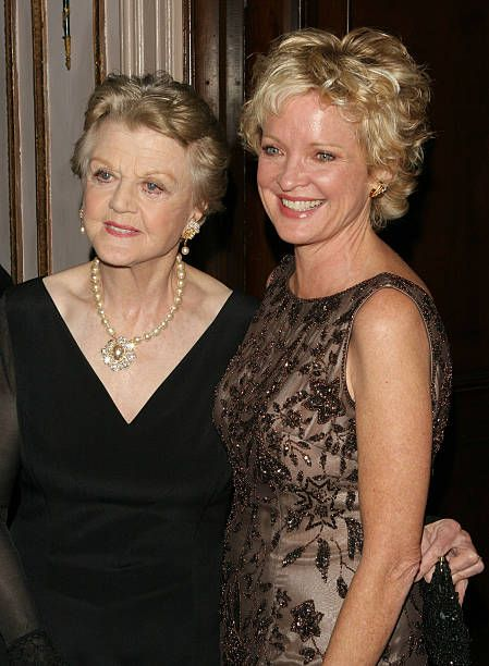 Actresses Christine Ebersole and Angela Lansbury attend The Actors Fund of America's star studded gala 'That's Entertainment' on October 30 2004 at...