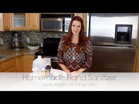 Thieves Homemade Hand Sanitizer - All Things G&D