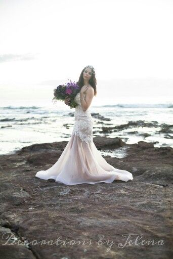 Sunrise beach wedding by Decorations By Jelena