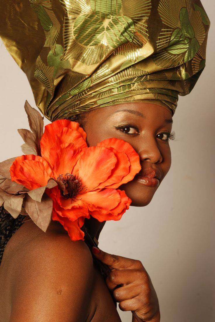 17 Best images about Traditional Wedding Dresses In The ... Traditional African Fashion Headdress