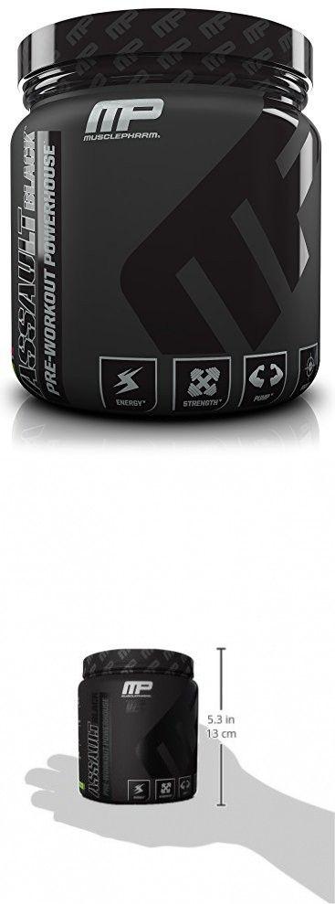 MusclePharm Assault Black Pre-Workout Supplement, Watermelon, 30 Servings